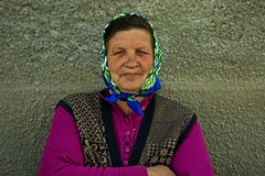 Roma woman in Romania (ucmediaproducties) Tags: road trip travel photography uc easterneurope balkan oosteuropa oostblok promofilm ucmedia ucmediaproducties