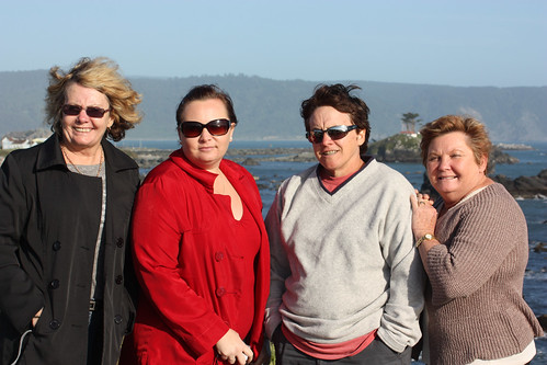 Lynne, Fiona, Pauline and Sue at Crescent City