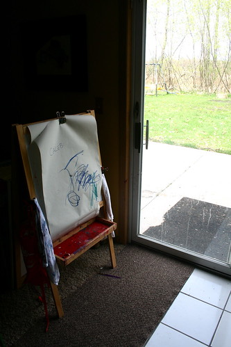 Easel by Window