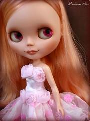 Uma Rosebud toda rosa e com rosas! =0)