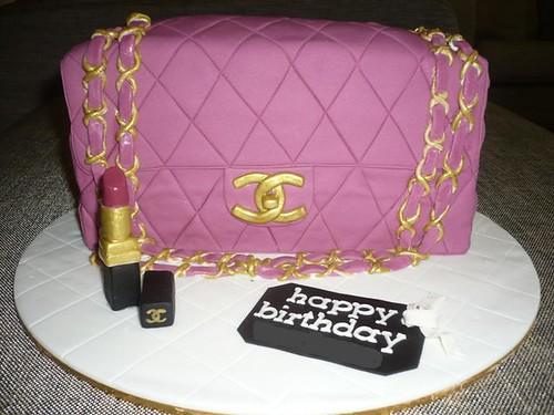 Chanel Flap Cake , originally uploaded by Liez's cupcake .