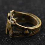 "<b>100.99hf01.1.61_4</b><br/> Brass Ring, Thunderbird and Snake Motifs Un-Provenienced<a href=""//farm4.static.flickr.com/3326/4574575943_798b8a207b_o.jpg"" title=""High res"">∝</a>"