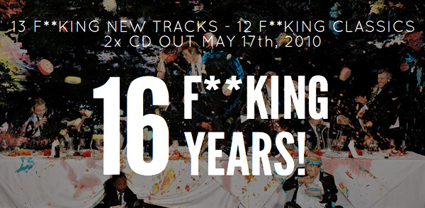Sixteen F**king Years of G-Stone Recordings (Image hosted at FlickR)