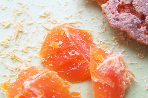 Formaffio stagionato di mucca alle carote