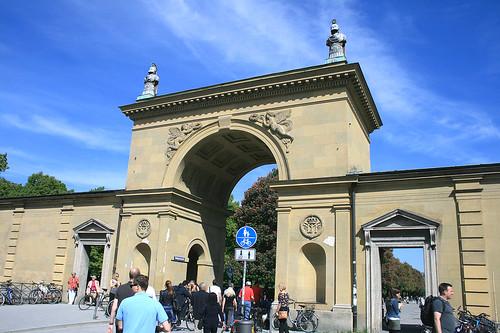 Tor zum Hofgarten