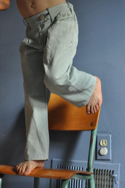 dancing pants.