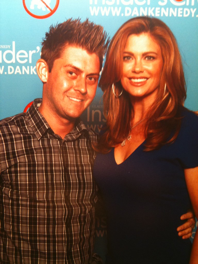 Duane Spires and Kathy Ireland speakers at the 2011 GKIC