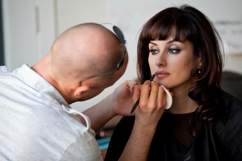 Тина Канделаки - макияж для фото