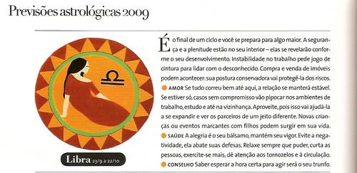 previsões 2009 para libra - revista claudia