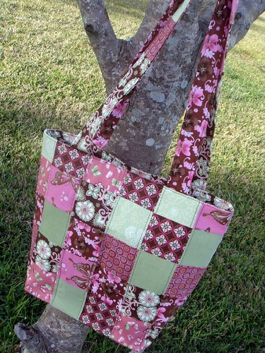 patchwork bag, side a