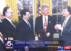 Inaugural Medals Levine Clinton