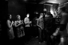 Crowd in the lights (Thiefree) Tags: light shadow party buffalo audience crowd watching january cardiff band garyandthegrutners