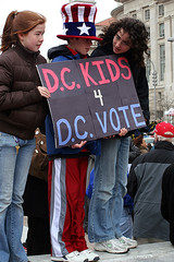 DC Kids 4 DC Vote (by: IntangibleArts/Hawkins, creative commons license)