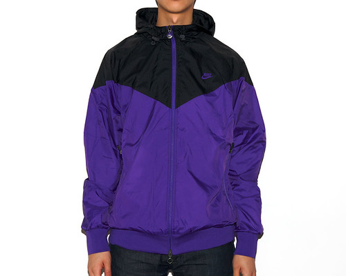 Nike Sportswear Foundation Windrunner - Purple/Black