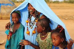 peul family in the bush near Mauritania (luca.gargano) Tags: africa travel mali exploration gargano lucagargano