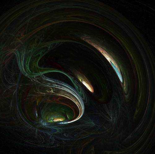 Apophysis- cave projector
