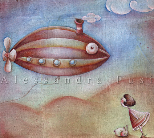 The Dirigible - bag artwork
