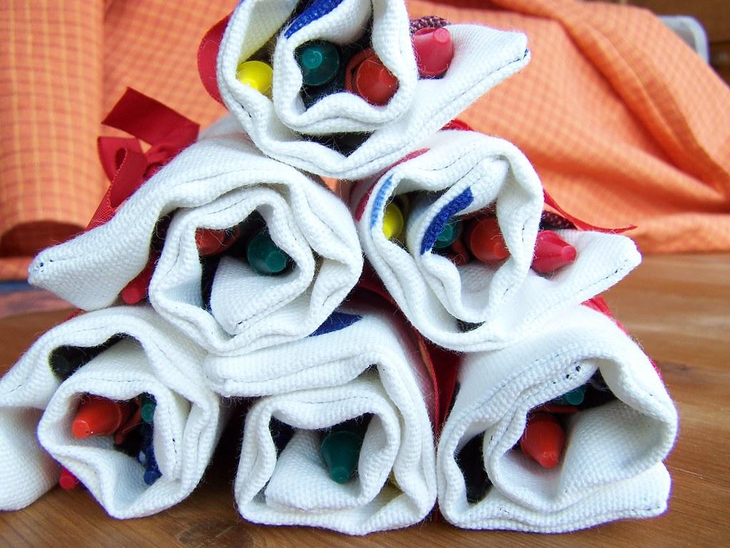 6 crayon rolls