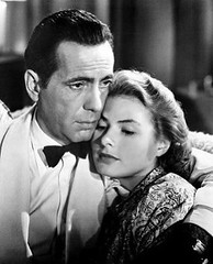 Romantic moment in Casablanca (1942) (movies&movies2) Tags: casablanca 1942 humphreybogart ingridbergman classicmovie classiccinema cinemalasuperlativ filmefavoritecornel