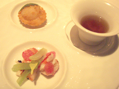 Trio of Lobster Amuse Bouche at Michael Mina, MyLastBite.com