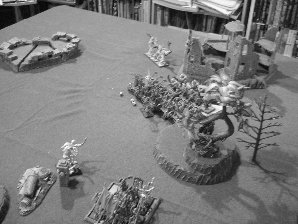 uploaded out of order: The battlefield going into turn 4 for the ogres