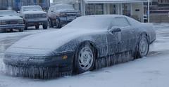 cool car (laurienrick) Tags: ice nature icestorm damage arkansas naturaldisaster springdale january2009 icestorm2009