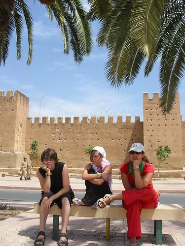 Bij de muren van Taroudant