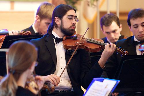 Tim Cook, Violin, Hillsdale College Orchestra