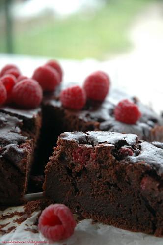 Torta cioccolamponi