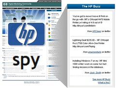 HP Buzz on internal portal via spy.appspot.com by hedrinbc, on Flickr