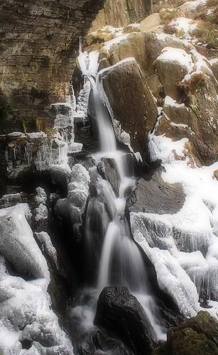 Icy Falls, North Wales