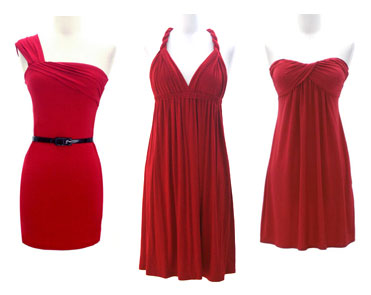 FashionJunkee Dresses - Red