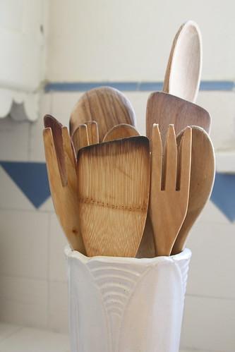 My wood spoons