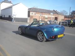 TVR Tamora (Matt-Hill) Tags: blue london speed trevor convertible pop sound hereford six tvr tuscan tamora wilkinson sagaris cerbera