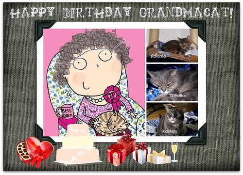 Happy Birthday Grandmacat