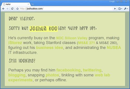 JoshuaKoo.com