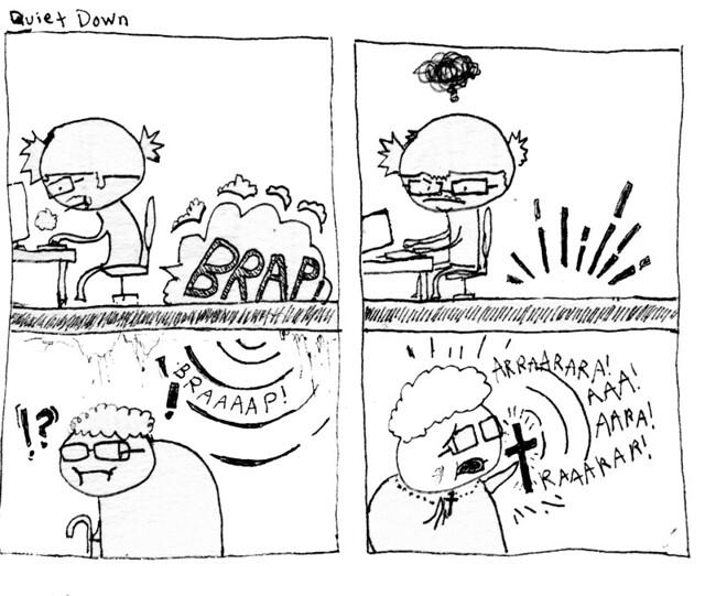 comedy comic apartment humor demons joepaul farts brap blap jowpaul hopes4dopes