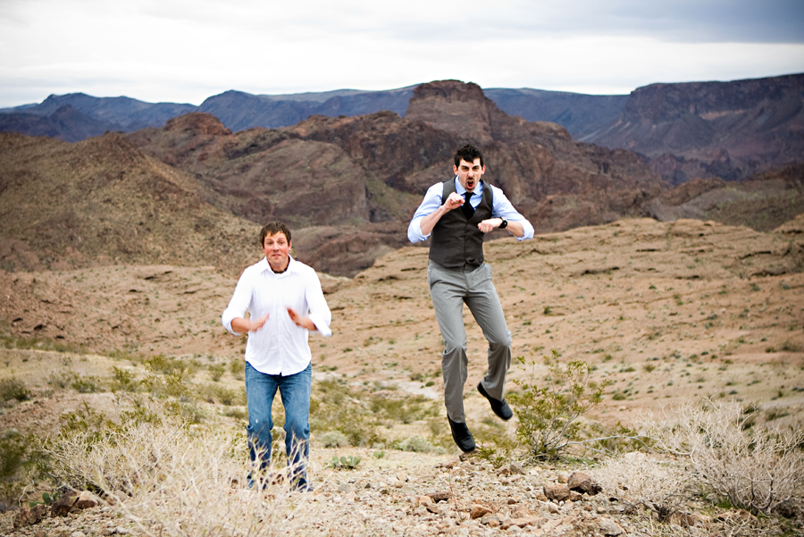 Vegas- WPPI 2009- Arizona Desert Shoot:  Ryan and Dustin's Bromance