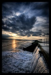 West Kirby Marine Lake (*Richard Cooper *) Tags: sunset hdr marinelake wirral westkirby merseyside 3exp