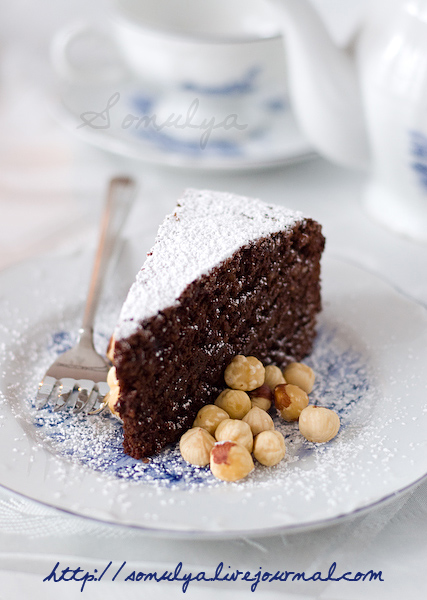 Modernized Torta Caprese