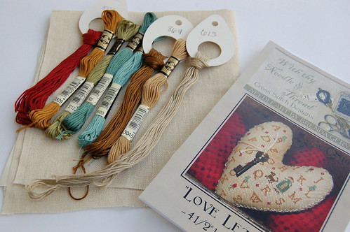 "With Thy Needle & Thread ""Love Letters"""