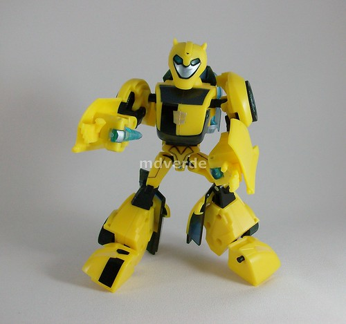 Transformers Bumblebee Animated Deluxe - modo robot