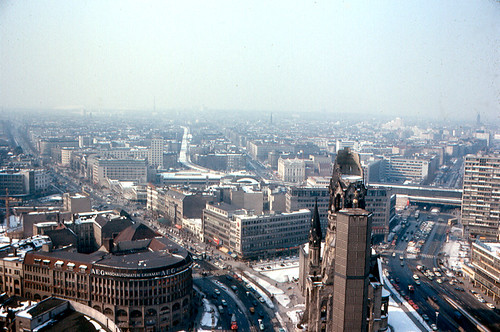 Berlin from Europa-Center