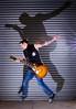 Guitar Hero Strobist Info:- x2