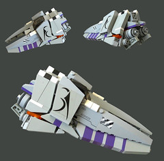 T-47 Bolt interceptor (Chrispockst) Tags: fighter lego space contest interceptor showuswhatyougot
