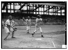 [John Hummel at bat, Brooklyn NL (baseball)] (LOC)