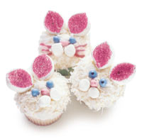 Bunny Cupcakes (Courtesy Family Fun Magazine)