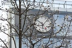 Frühling auf dem Bahnhofplatz