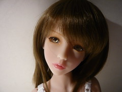 a new girl at home :) (Meko) Tags: tan bjd balljointeddoll narin narae dollfair frenchresin
