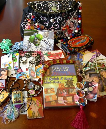 The Sacred Bag after with swag! by HandmadeDork.